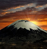 Vulcano Parinacota, Chile — Stock Photo