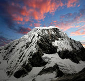 Mountain Chopicalqui , Peru — Stock Photo
