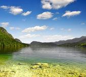 Lake Bohinj - Slovenia — Stock Photo
