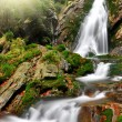 Stock Photo: Autumn Waterfall
