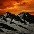 Dom and Taschhorn - Swiss alps — ストック写真