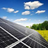 Energia słoneczna panele — Zdjęcie stockowe