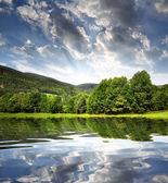 National park Sumava in Czech Republic — Stock Photo