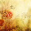 Decorative Flowers Background — Stock Photo