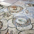 Historic mosaic in basilica - Stock Photo