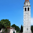 Nice basilica at Aquileia in Italy. - Stock Photo