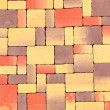Stock Photo: Brick mosaic
