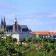 Panorama of Prague Castle - Stock Photo