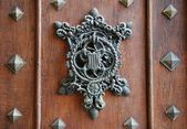 Medieval door. — Stock Photo
