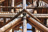 Wood construction — Stock Photo