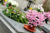 Funeral flowers — Stock Photo