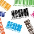 Royalty-Free Stock Vector Image: Color barcode