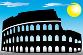 Rome Coliseum — Stock Vector