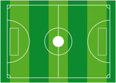 Football field — Stock Vector