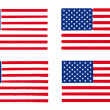 Stock Vector: USflags