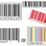 Various barcodes — Stock Vector