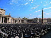 St. Peter's Square in Rome — Photo