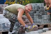 Bricklayer — Stock Photo