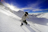 Snowboardeur — Photo
