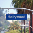 Royalty-Free Stock Photo: Hollywood Bl Sign