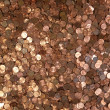 Stock Photo: Many Pennies