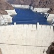 Hoover Dam and Lake Mead — Stock Photo