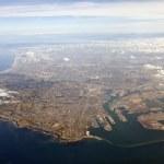 LA Harbor Aerial — Stock Photo #7914780