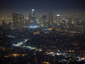 Los Angeles Night — Stock Photo