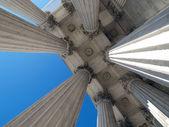 Supreme Court Columns — Stock Photo