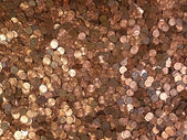 Many Pennies — Stock Photo