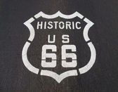 Historic US 66 — Stock Photo