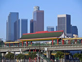 Chinatown Station in Los Angeles — Stock Photo