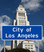 City of Los Angeles — Stock Photo