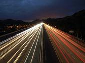 Fast Freeway — Stock Photo