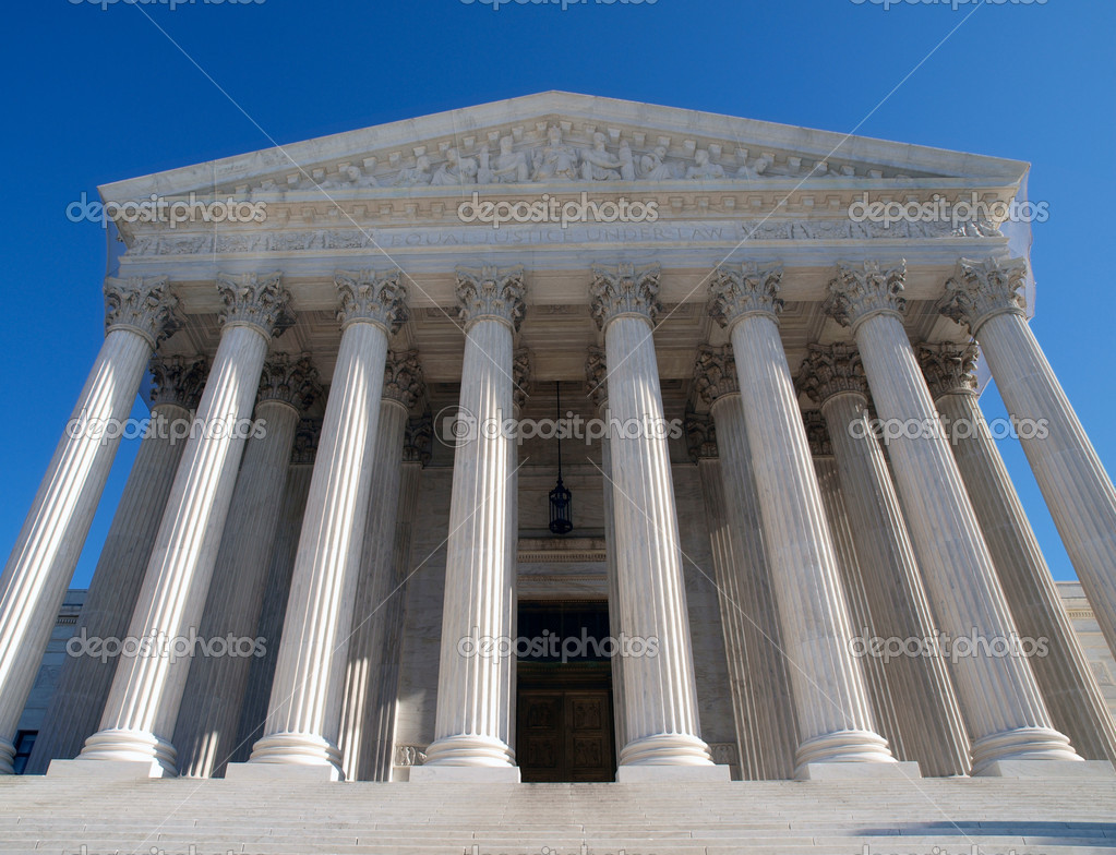 Historic Supreme Court building in Washington DC. — Stock Photo #7920902