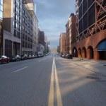 Pittsburgh City Street — Stock Photo #7932519