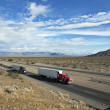 Mojave Desert Freeway — Stock Photo #7932620