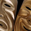 Foto de Stock  : Comedy and Tragedy Masks