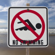 No Swimming Sign — Stock Photo #7933111