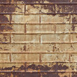 Grungy Rusted Textured Tin Background — Stock Photo