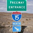 Stock Photo: Mojave Freeway