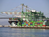 Container land — Stockfoto