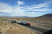 Mojave Desert Freeway — Stock Photo