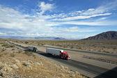 Mojave Desert Freeway — Stock Photo
