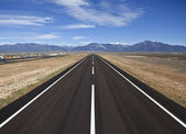 Rural County Airport Runway — Stock Photo