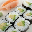 Avocado Roll Sushi — Stock Photo #7944199
