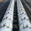 Stock Photo: Tanker Cars