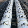 Tanker Cars — Stock Photo