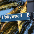 Royalty-Free Stock Photo: Hollywood Blvd Palms