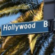 Hollywood Blvd Palms — Stock Photo #7945838